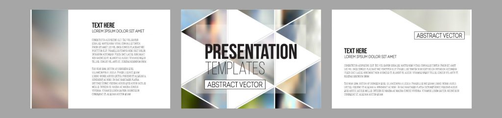 Custom PowerPoint template with animation